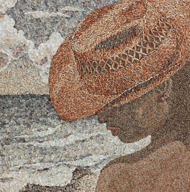 mozaikaizpeska 8 Мозаика из песка и ракушек от Светланы Иванченко