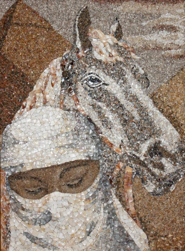 mozaikaizpeska 9 Мозаика из песка и ракушек от Светланы Иванченко