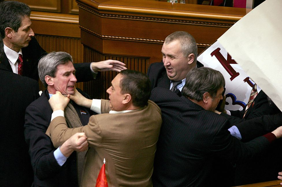 parliamentfights10 Драки в парламентах разных стран мира