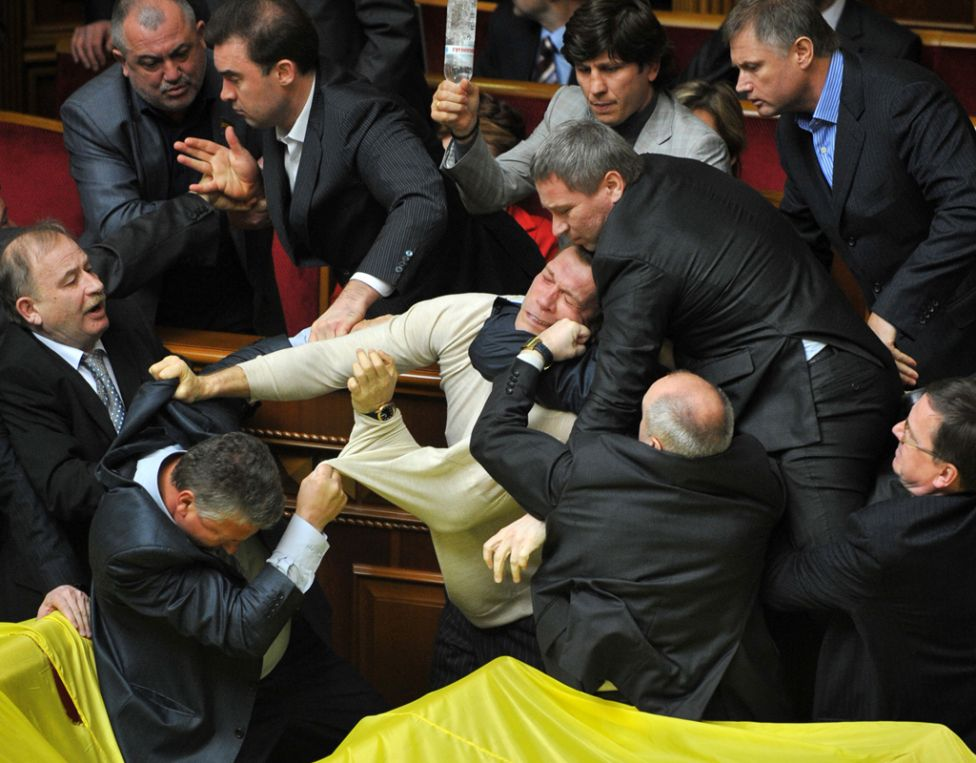 parliamentfights21 Драки в парламентах разных стран мира