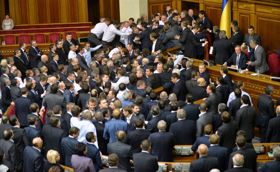 parliamentfights25 Драки в парламентах разных стран мира