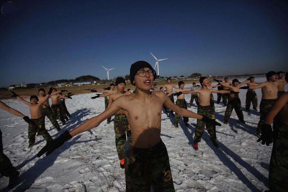 pic 0080 Суровый детский лагерь в Южной Корее