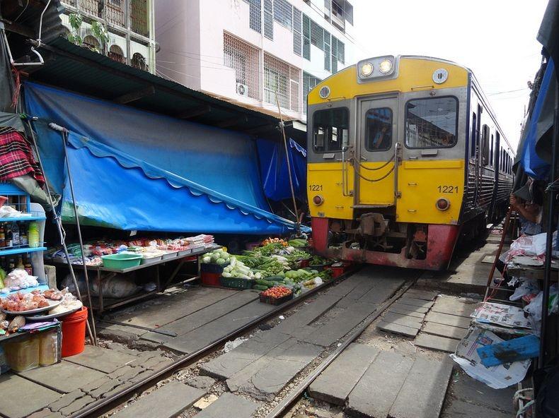 Железнодорожный рынок