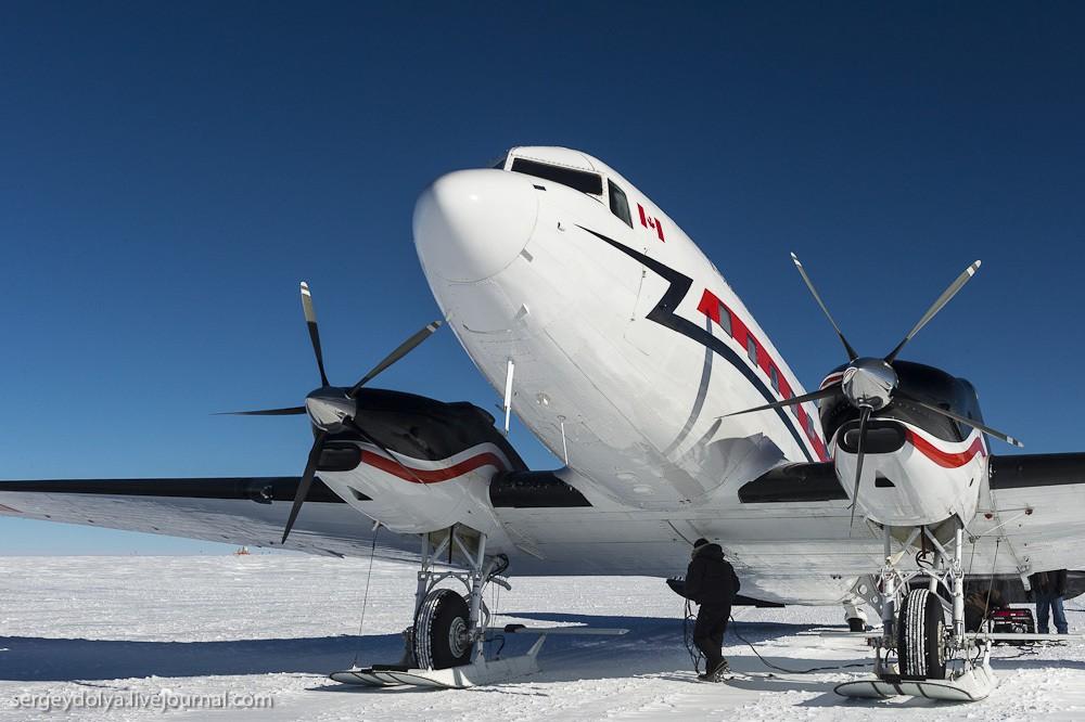 restation05 Антарктическая станция на Южном полюсе Амундсен   Скотт