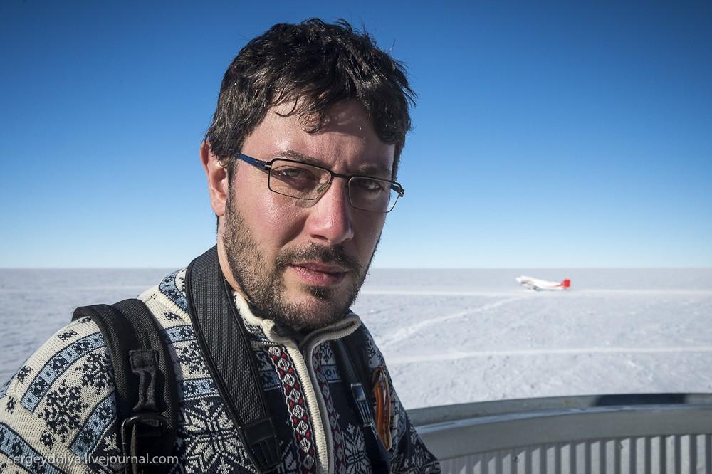 restation21 Антарктическая станция на Южном полюсе Амундсен   Скотт