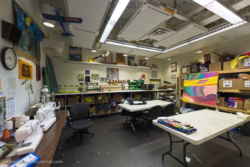 restation40 Антарктическая станция на Южном полюсе Амундсен   Скотт