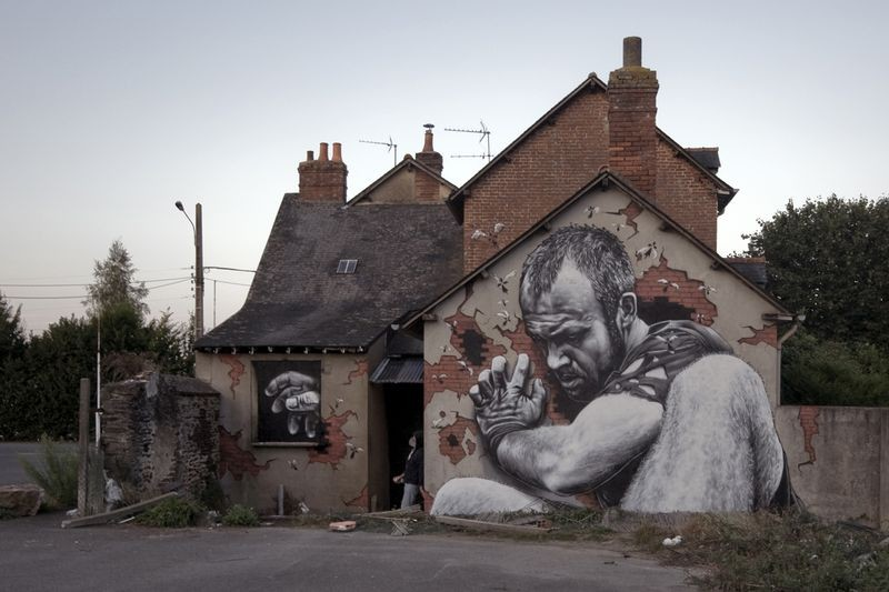 streetart17 Лучший стрит арт 2012