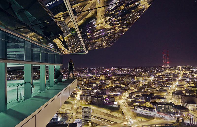 Картинки город ночь крыши, игра домино смешные