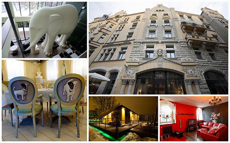 Необычные отелиРиги
