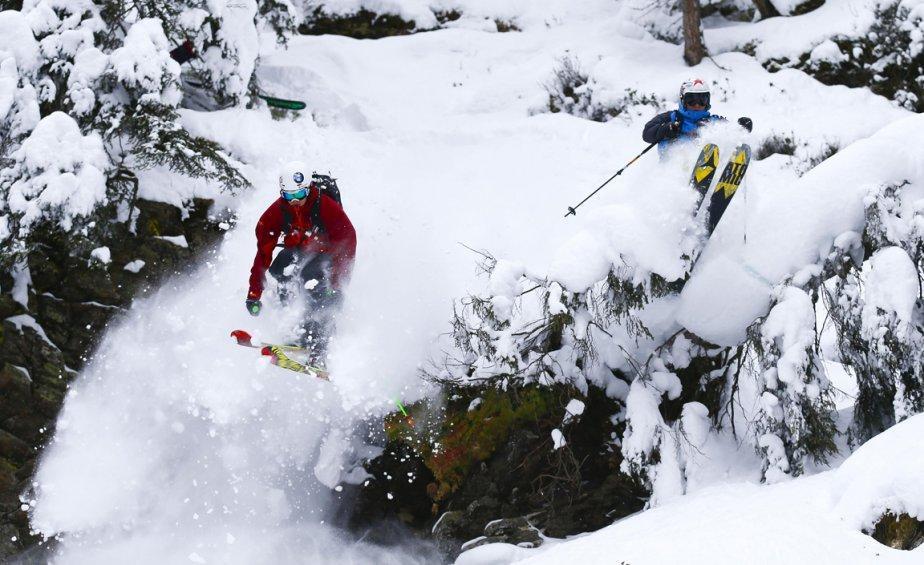 Innsbruck08 Горнолыжный спуск в небе над Инсбруком
