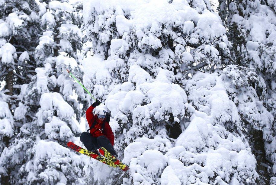 Innsbruck15 Горнолыжный спуск в небе над Инсбруком