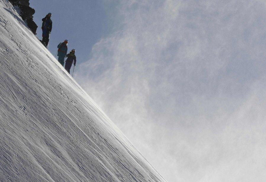 Innsbruck16 Горнолыжный спуск в небе над Инсбруком
