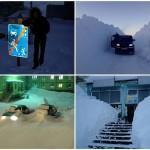 Суровая зима в Норильске
