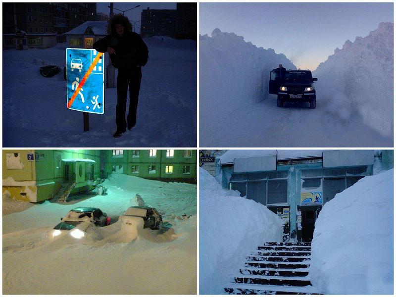 TEMP51 Суровая зима в Норильске