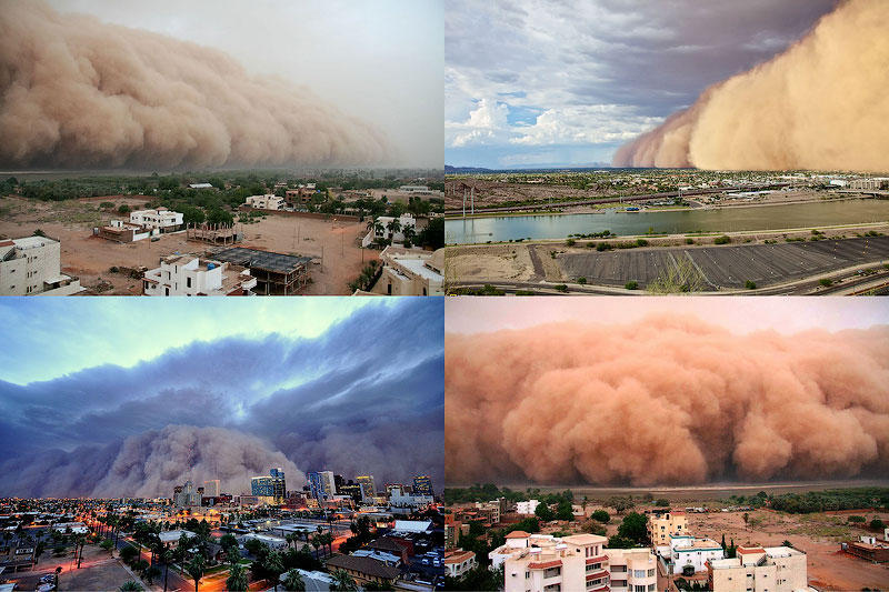 TEMP71 Впечатляющие песчаные бури