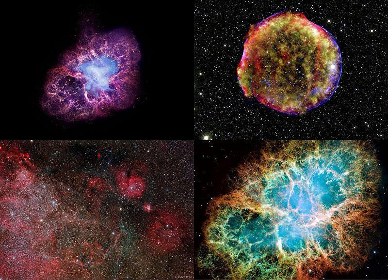 TEMP75 Остатки от вспышек сверхновых звезд