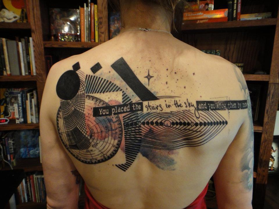От французского тату мастера