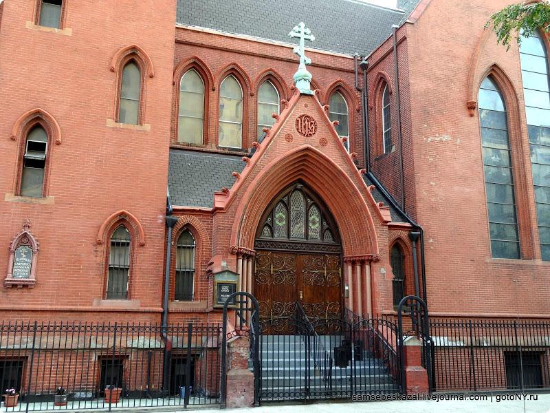 Необычные церкви Нью-Йорка