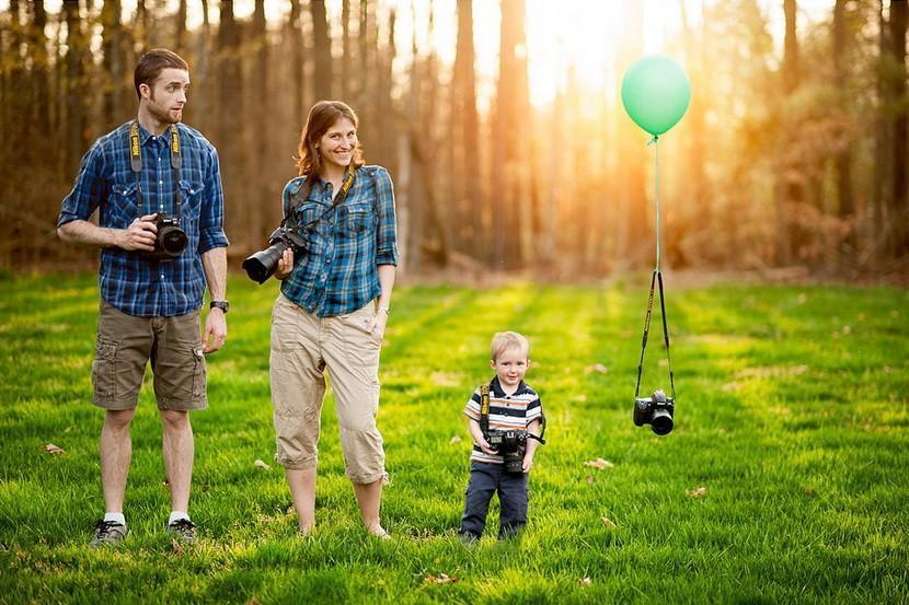 family03 12 креативных семейных портретов