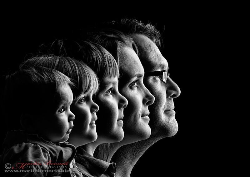family10 12 креативных семейных портретов