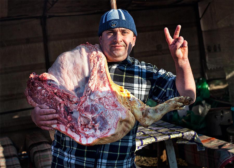 festival gecha 37 Фестиваль мясников в Закарпатье