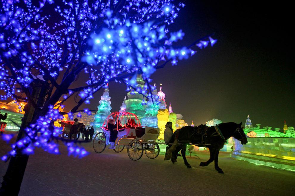 harbin02 Харбинский международный фестиваль снежных и ледяных скульптур 2013