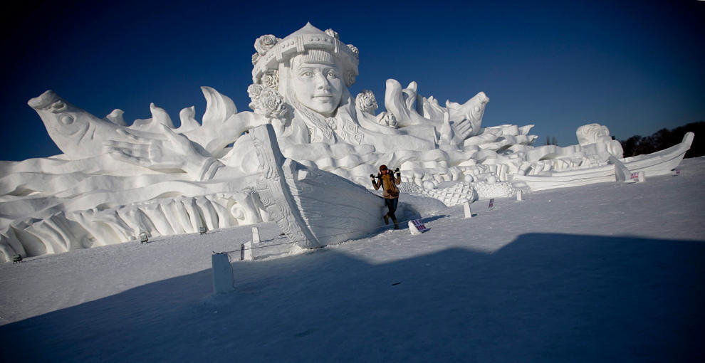 harbin11 Харбинский международный фестиваль снежных и ледяных скульптур 2013