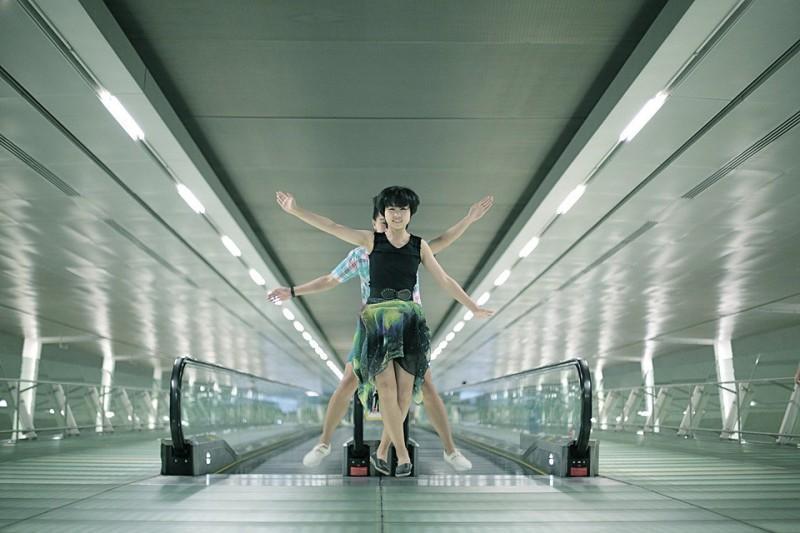 Удивительные фотографии парящих в воздухе людей из Сингапура. Никакого фотошопа!