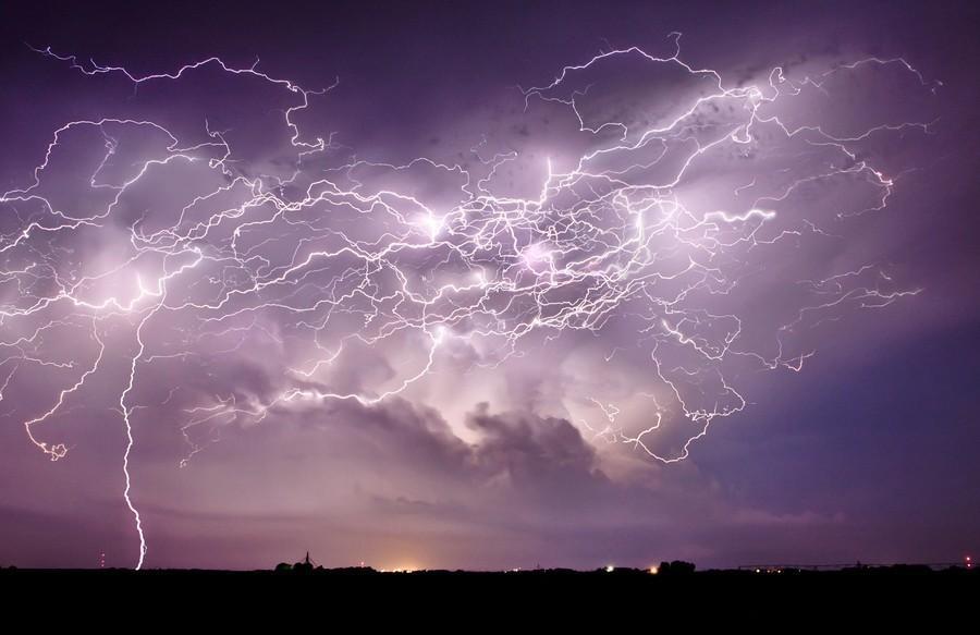 lightnings12 13 самых красивых молний со всего света