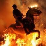 Огненный фестиваль Las Luminarias