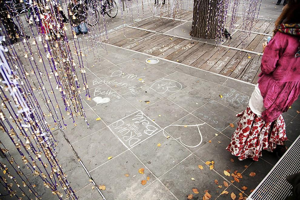 melodicbells02 12 тысяч бубенцов на дереве