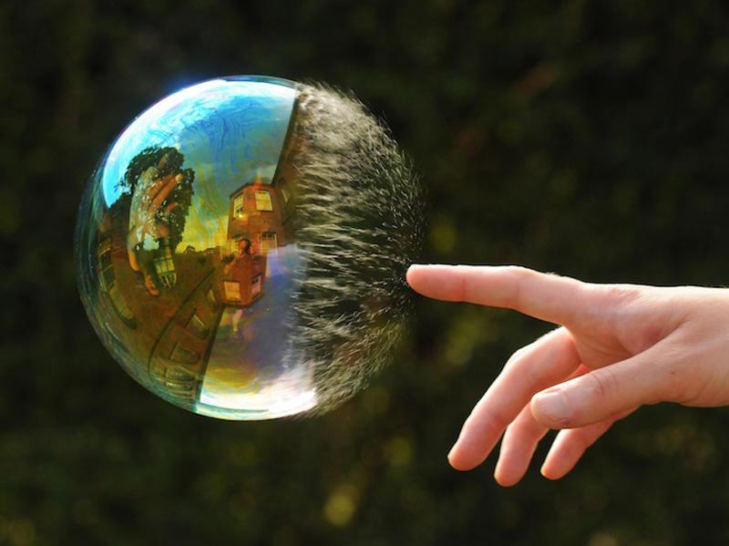 milniepuziri 1 Мир в отражении мыльных пузырей