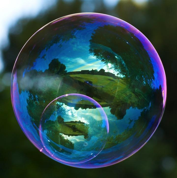 milniepuziri 10 Мир в отражении мыльных пузырей