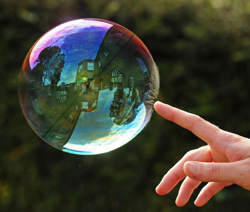 milniepuziri 13 Мир в отражении мыльных пузырей