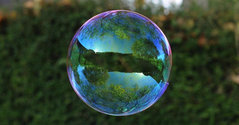 milniepuziri 2 Мир в отражении мыльных пузырей