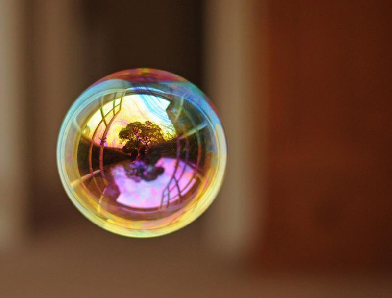 milniepuziri 3 Мир в отражении мыльных пузырей