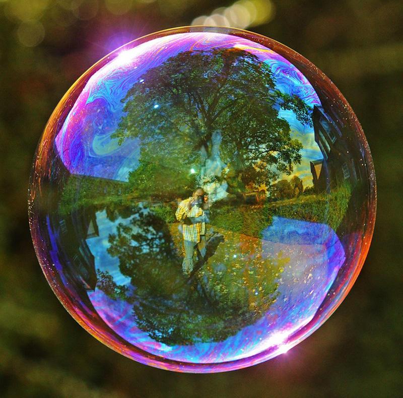 milniepuziri 4 Мир в отражении мыльных пузырей