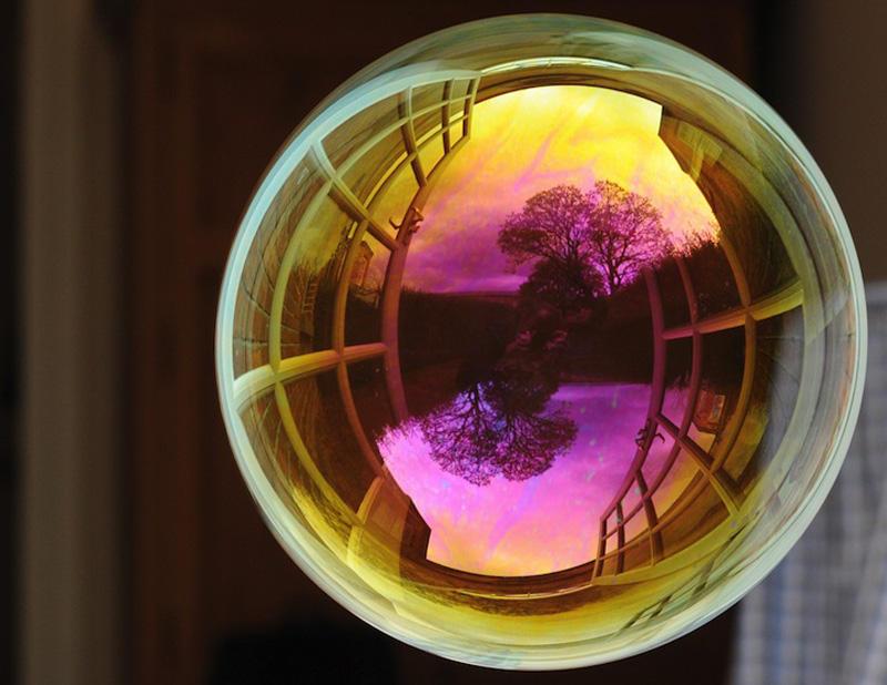 milniepuziri 5 Мир в отражении мыльных пузырей