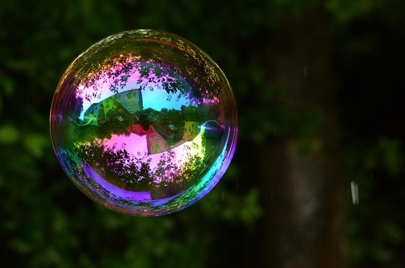 milniepuziri 6 Мир в отражении мыльных пузырей