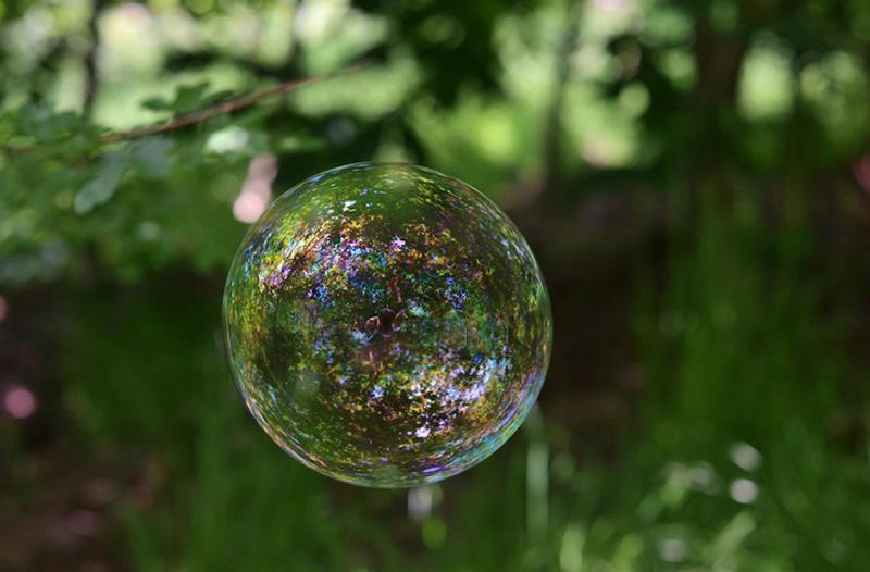 milniepuziri 7 Мир в отражении мыльных пузырей