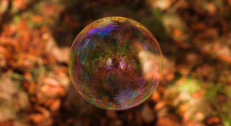 milniepuziri 8 Мир в отражении мыльных пузырей