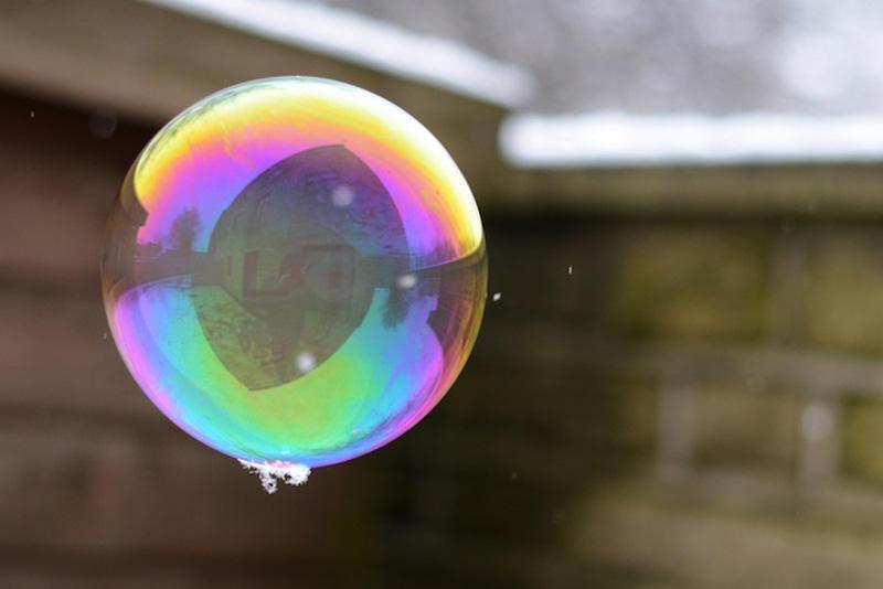 milniepuziri 9 Мир в отражении мыльных пузырей