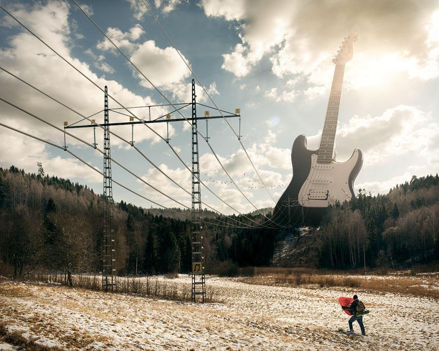 neobichniefoto 1 Необычные фото Эрика Йоханссона