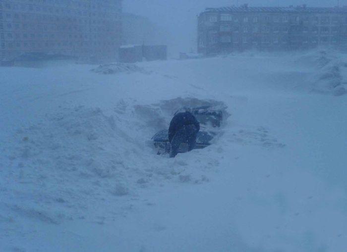 norilsk04 Суровая зима в Норильске