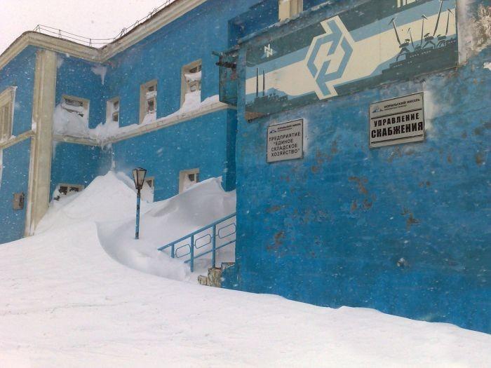norilsk11 Суровая зима в Норильске