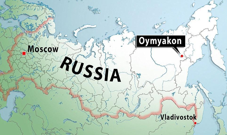 oymyakon21 Село Оймякон   самый холодный населенный пункт в мире