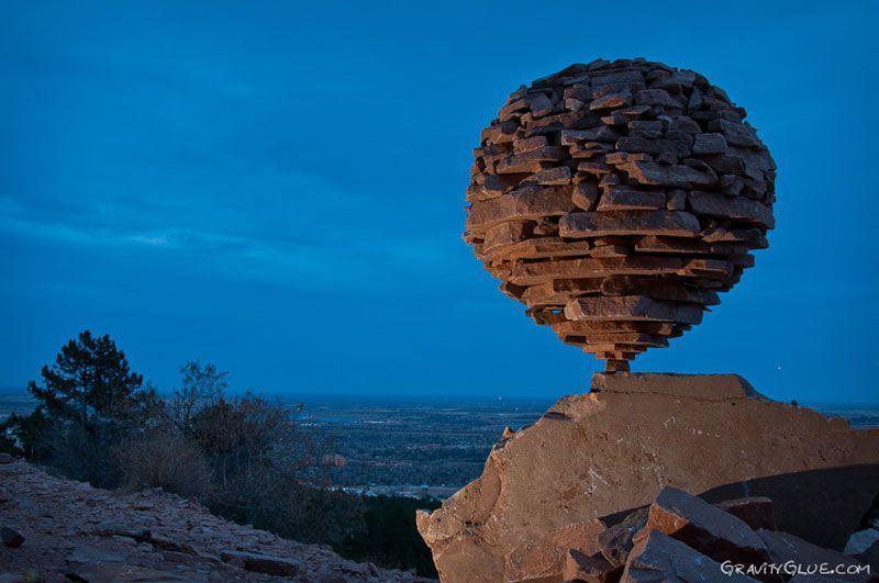 rockbalance01 Балансирующие камни от Майкла Граба