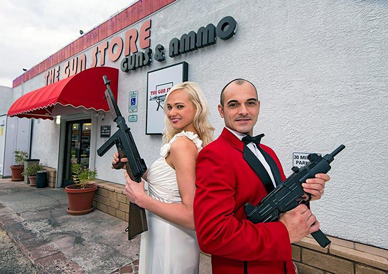 shotgunwedding01 Вооруженные свадьбы в Лас Вегасе