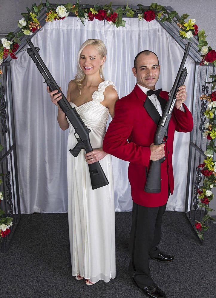 shotgunwedding02 Вооруженные свадьбы в Лас Вегасе