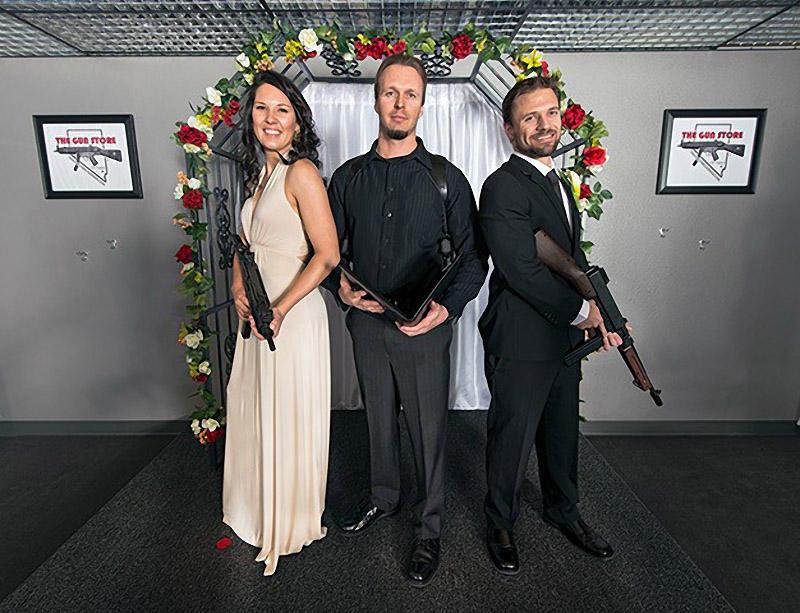 shotgunwedding04 Вооруженные свадьбы в Лас Вегасе